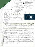 La Cantata Criolla PARTITURA