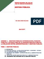 Tema i Gestion Publica