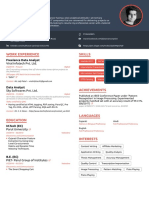 Bharat's Resume_Novo Resume_Sep 2019