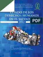 Balance Anual Sobre El Estado de Los Ddhh 2012