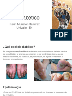 Pie Diabético Enfocado a Neuropatia