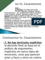 01 Continuismo vs Cesacionismo
