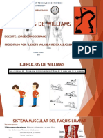 Ejercicios de Williams Diapositivas