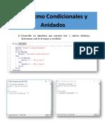Algoritmos Condicionales by Anidadas