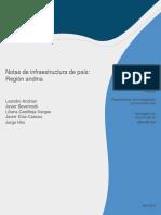 Notas de Infraestructura de Pais - Region Andina 2018