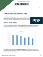 Tipos de Gráficos en Excel 2013 • Excel Total