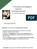 Bloque III- Sensopercepción