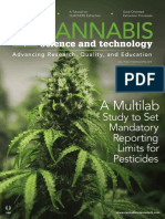 Cannabis Science and Techonology Vol 1 No 1