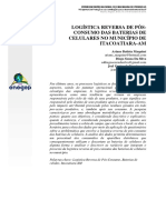 Logística reversa de pós consumo das baterias de celulares no município de Itacoatiara-AM..pdf