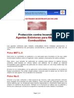 AGENTES EXTINTORES PARA METALES COMBUSTIBLES.doc