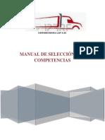 Manual de Selección Por Competencias