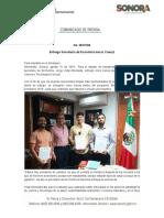 31-08-19 Entrega Secretaría de Economía becas Coecyt