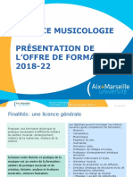 Licence musicologie