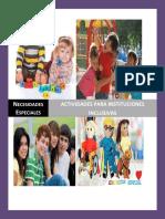 Proyecto  de Necesidades Especiales - Actividades Inclusivas