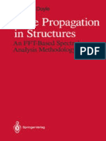 Wave Propagation in Structures-An FFT-Based Spectral Analysis Methodology_ J F Doyle 1sr Ed, 1989