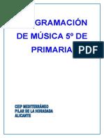Programación Música 5º.doc