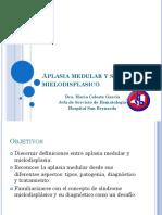 Aplasia medular y sindrome  mielodisplasico.ppt