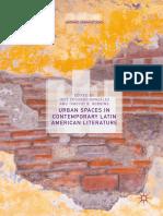 Estudios Urbanisticos Literatura Hispanoamericana