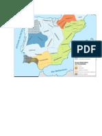 Mapa Hispania Prerromana