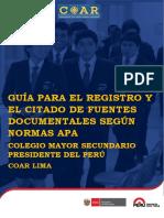 Normas APA CORREGIDO Mayo 2017 Final