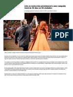 Mauricio Macri Apuesta Su Reelección Presidencial a Una Campaña Electoral de 30 Días en 30 Ciudades - Infobae