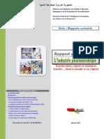 Rapport Sectoriel - Industrie Pharmaceutique - PDF
