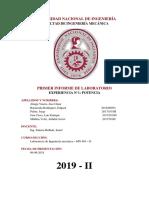 1 informe laboratorio de ingenieria mecanica