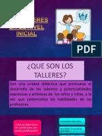 Diapositivas Talleres Flor