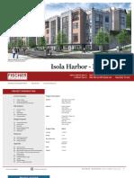 Isola Harbor North Parcels design packet