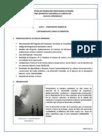 Guía 2. Contaminación e Impacto Ambiental