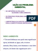 1 - Introdução a Questão Ambiental