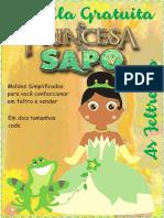Apostila Molde Princesa Sapo