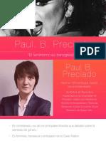 El feminismo es transgresión Paul B Preciado