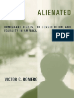 [Critical America] Victor C Romero - Alienated _ immigrant rights, the constitution, and equality in America (2005, New York University Press).pdf