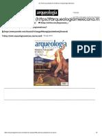 52. Primeros Pobladores de México _ Arqueología Mexicana