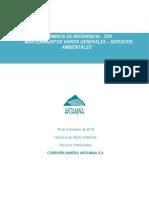 TDR Mantenimiento Áreas de Servicios Ambientales
