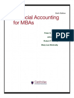 Book Financial Accounting for MBAs