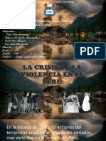 La Crisis de La Violencia en El Perú