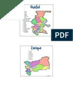 Guatemala Todos Los Departamentos