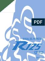 Yamaha Yzf r125 Manual