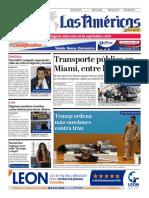 DIARIO LAS AMÉRICAS Edición digital del miércoles 18 de septiembre de 2019