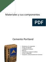 Materiales y Sus Componentes