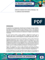 Evidencia 4 Los Derechos Humanos en El Marco Personal y en El Ejercicio de Mi Profesion