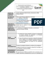 Formato de Inscripción Para Propuestas de Investigación 2019a