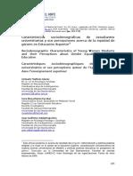 UCN Características sociodemográficas
