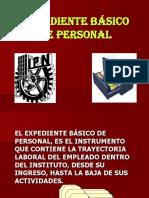 EXPEDIENTE BASICO DE PERSONAL.ppt