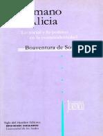 De La Mano de Alicia_boaventura de Sousa