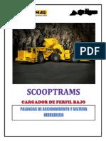 Palanca de Acc. Scooptrams