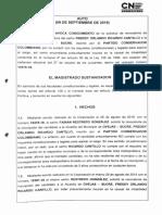 Proceso a Freddy Ricardo Cantillo-18/09/2019