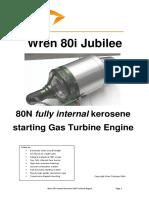 Wren 80i Gas Turbine Engine Tech Specs